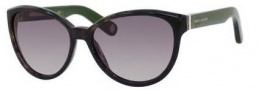 Marc Jacobs 465/S Sunglasses Sunglasses - 0BVS Green Black Havana (DX dark gray shaded lens)