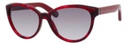 Marc Jacobs 465/S Sunglasses Sunglasses - 0BVR Red Havana (VK gray gradient lens)
