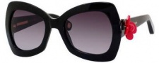 Marc Jacobs 456/S Sunglasses Sunglasses - 0807 Black / Black (HD gray gradient lens)