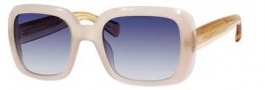 Marc Jacobs 443/S Sunglasses Sunglasses - 06D6 Sand (08 dark blue gradient lens)