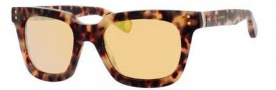Marc Jacobs 437/S Sunglasses Sunglasses - 04GX Havana (ET gold mirror lens)