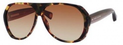 Marc Jacobs 435/S Sunglasses Sunglasses - 03L9 Havana Brown (S2 brown gradient lens)