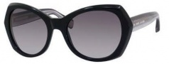 Marc Jacobs 434/S Sunglasses Sunglasses - 03L3 Black (HD gray gradient lens)