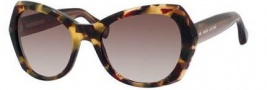 Marc Jacobs 434/S Sunglasses Sunglasses - 03L9 Havana Brown (HA brown gradient lens)