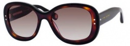 Marc Jacobs 431/S Sunglasses Sunglasses - 038W Black Havana / Black (HA brown gradient lens)