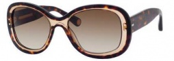 Marc Jacobs 431/S Sunglasses Sunglasses - 0397 Havana Beige / Havana (CC brown gradient lens)