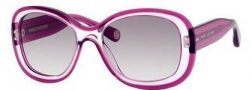 Marc Jacobs 431/S Sunglasses Sunglasses - 03BW Lilac Crystal / (LF gray gradient lens)