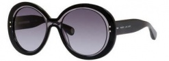 Marc Jacobs 430/S Sunglasses Sunglasses - 035N Black / Gray (HD gray gradient lens)