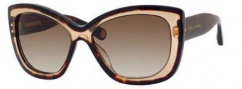 Marc Jacobs 429/S Sunglasses Sunglasses - 0397 Havana (CC brown gradient lens)