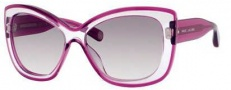 Marc Jacobs 429/S Sunglasses Sunglasses - 03BW Violet (LF gray gradient lens)