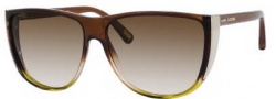 Marc Jacobs 420/S Sunglasses Sunglasses - 0M3J Brown Nude Lime (JD brown gradient lens)