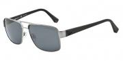 Emporio Armani EA2002 Sunglasses Sunglasses - 301081 Gunmetal / Polarized Grey