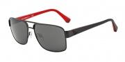 Emporio Armani EA2002 Sunglasses Sunglasses - 300187 Matte Black / Grey