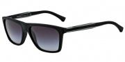 Emporio Armani EA4001 Sunglasses Sunglasses - 50638G Black Rubber / Grey Gradient
