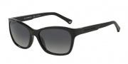 Emporio Armani EA4004 Sunglasses Sunglasses - 5017T3 Black / Polarized Grey Gradient