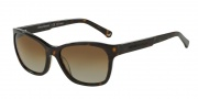 Emporio Armani EA4004 Sunglasses Sunglasses - 5026TS Dark Havana / Polarized Brown Gradient