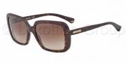 Emporio Armani EA4007 Sunglasses Sunglasses - 502613 Dark Havana / Brown Gradient