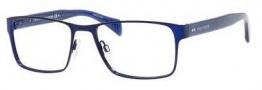 Tommy Hilfiger 1256 Eyeglasses Eyeglasses - 04KO Semi Matte Blue