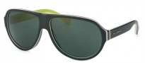Dolce & Gabbana DG4204 Sunglasses Sunglasses - 277071 Green / Multilayer / Lime / Gray Green Lens