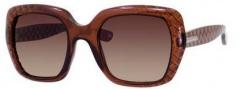 Bottega Veneta 217/S Sunglasses Sunglasses - 0RH9 Brown (D8 brown gradient lens)