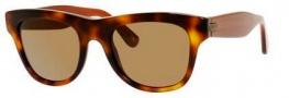 Bottega Veneta 248/S Sunglasses Sunglasses - 0F22 Havana (X7 brown lens)