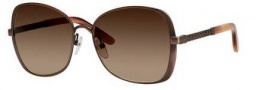 Bottega Veneta 258/F/S Sunglasses Sunglasses - 04EL Antique Rose (J6 brown gradient lens)