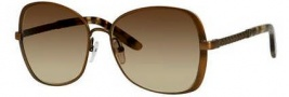Bottega Veneta 258/F/S Sunglasses Sunglasses - 04EG Semi Matte Brass (CC brown gradient lens)