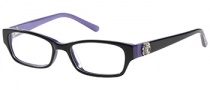 Candies C Riley Eyeglasses Eyeglasses - BLKPUR Black / Purple