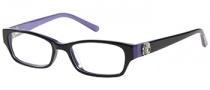 Candies C Riley Eyeglasses Eyeglasses - BLKPUR Black / Purple