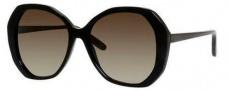 Bottega Veneta 272/S Sunglasses Sunglasses - 0128 Black (HA brown gradient lens)