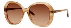 Bottega Veneta 272/S Sunglasses Sunglasses - 09RM Shell Beige (71 brown gradient lens)