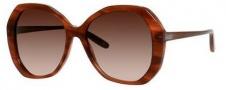 Bottega Veneta 272/S Sunglasses Sunglasses - 0E2P Striped Light Brown (J6 brown gradient lens)