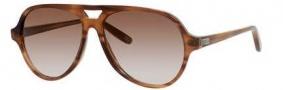 Bottega Veneta 273/S Sunglasses Sunglasses - 07L4 Brown Striped (CC brown gradient lens)