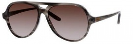 Bottega Veneta 273/S Sunglasses Sunglasses - 07M6 Gray Striped (HA brown gradient lens)