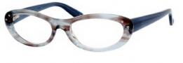 Bottega Veneta 204 Eyeglasses Eyeglasses - 042G Blue Havana