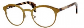 Bottega Veneta 212 Eyeglasses Eyeglasses - 0HM2 Antique Gold