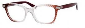 Bottega Veneta 223 Eyeglasses Eyeglasses - 0SK4 Crystal Burgundy / Wine