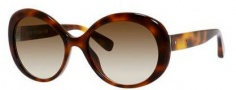 Bobbi Brown The Ali/S Sunglasses Sunglasses - 005L Blonde Tortoise (Y6 brown gradient lens)