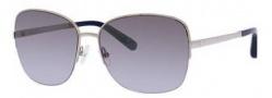 Bobbi Brown The Dutch/S Sunglasses Sunglasses - 0010 Palladium (19 dark navy silver flash lens)
