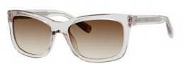 Bobbi Brown The Holland/S Sunglasses Sunglasses - 0JMY Transparent Dove Gray (Y6 brown gradient lens)