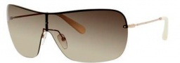 Bobbi Brown The Joe/S Sunglasses Sunglasses - 03YG Light Gold (CC brown gradient lens)