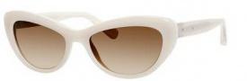 Bobbi Brown The Kennedy/S Sunglasses Sunglasses - 0BTA Transparent Frost (Y6 brown gradient lens)