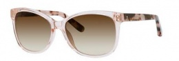Bobbi Brown The Rose/S Sunglasses Sunglasses - 0JBF Crystal Pink (Y6 brown gradient lens)