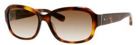 Bobbi Brown The Sandra/S Sunglasses Sunglasses - 005L Blonde Havana (Y6 brown gradient lens)
