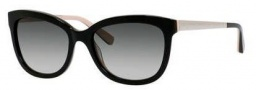 Bobbi Brown The Stella/S Sunglasses Sunglasses - 0JBD Black Nude (Y7 gray gradient lens)