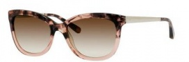 Bobbi Brown The Stella/S Sunglasses Sunglasses - 0DG4 Rose Havana (Y6 brown gradient lens)