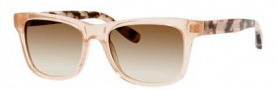 Bobbi Brown The Steve/S Sunglasses Sunglasses - 0JNG Transparent Pink (Y6 brown gradient lens)