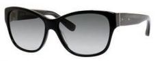 Bobbi Brown The Veronika/S Sunglasses Sunglasses - 0807 Black (Y7 gray gradient lens)