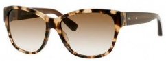 Bobbi Brown The Veronika/S Sunglasses Sunglasses - 0ESP Camel Tortoise (Y6 brown gradient lens)
