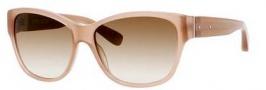 Bobbi Brown The Veronika/S Sunglasses Sunglasses - 0JLX Cement (Y6 brown gradient lens)